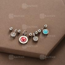Conjunto de Charms DIY en Acero Inoxidable -SSSTG142-8507
