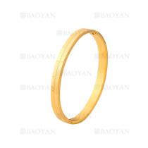 pulsera de moda de dorado en acero inoxidable-SSBTG1225006
