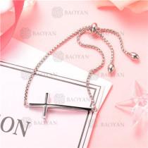 Pulsera de Acero Inoxidable para Mujer -SSBTG126-8221