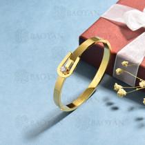 pulsera de acero inoxidable para mujer -SSBTG174-15347