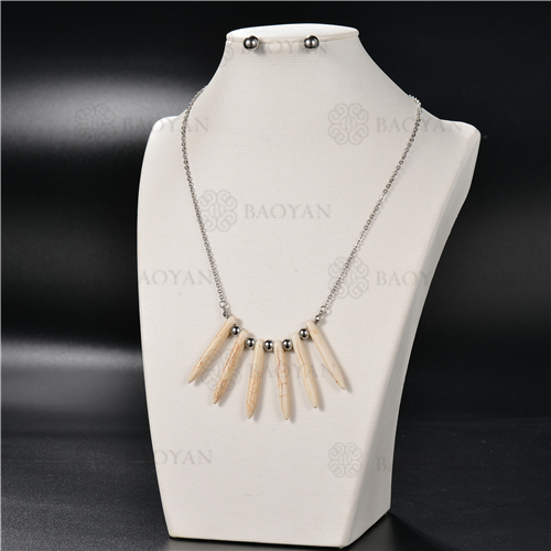 Collar Multicapa en AceroSSNEG126-4917