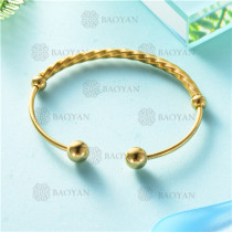 pulsera dorado en acero inixidable-SSBTG26-9132