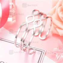Pulsera de Acero Inoxidable para Mujer -SSBTG126-8188