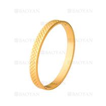 pulsera de dorado en acero de moda para mujer-SSBTG404550