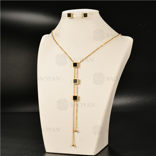 Collar Multicapa en AceroSSNEG126-4954
