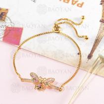 pulseras de bronce -BRBTG141-14017