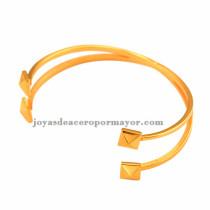 venta de pulseras con doble cable de acero online