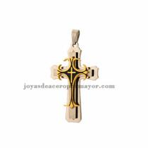 dije de cruz en acero inoxidable venta online por mayor -SSPTG54812