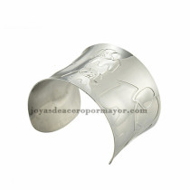 pulsera de image elefante en acero plateado  inoxidable para dama -SSBTG213397