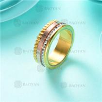 anillo moda en acero inoxidable-SSRGG80-2472