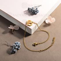 pulsera de acero inoxidable para mujer -SSBTG143-15346