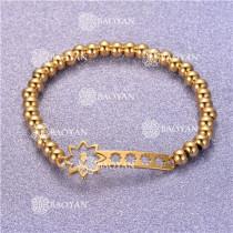 Pulsera con Bolitas Oro Dorado Para Mujer -SSBTG95-6296