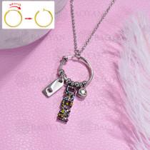 collar de DIY en acero inoxidable -SSNEG143-15473
