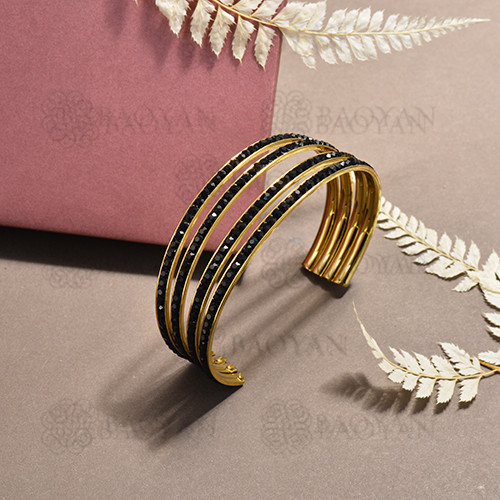 stainless steel bangle for women -SSBTG170-15626