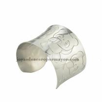 pulsera de image panda  linda en acero plateado inoxidable para dama -SSBTG213401