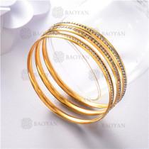 pulsera dorado en acero inixidable-SSBTG26-9149