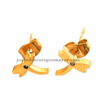 arete de dagonfly en acero dorado por mayor -SSEGG492146