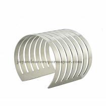 pulsera de estilo moda raya en acero plateado  inoxidable -SSBTG213283
