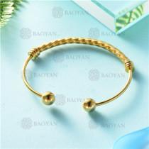 pulsera dorado en acero inixidable-SSBTG26-9130