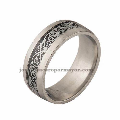 anillo de dibujo especial en acero inoxidable para mujer -SSRGG971008