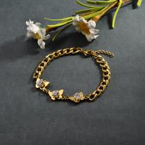 pulsera de acero inoxidable para mujer -SSBTG95-15272