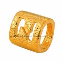 abolarios de  letra  N  dorado oro laminado-BRPTG90058