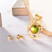 conjunto de dorado en acero inoxidable-SSSTG107-8156