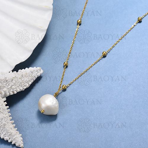 collar de perlas cultivadas -SSNEG142-15565