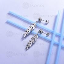 pendientes de acero inoxidable -SSEGG143-13096-S