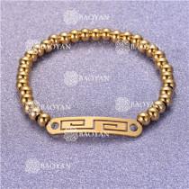 Pulsera con Bolitas Oro Dorado Para Mujer -SSBTG95-6248