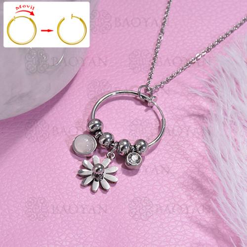 collar de DIY en acero inoxidable -SSNEG143-15479