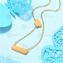 Collar de Acero Inoxidable -SSNEG129-7534