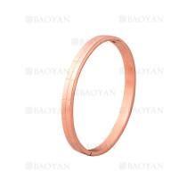 pulsera de moda de oro rosado en acero inoxidable-SSBTG1225007