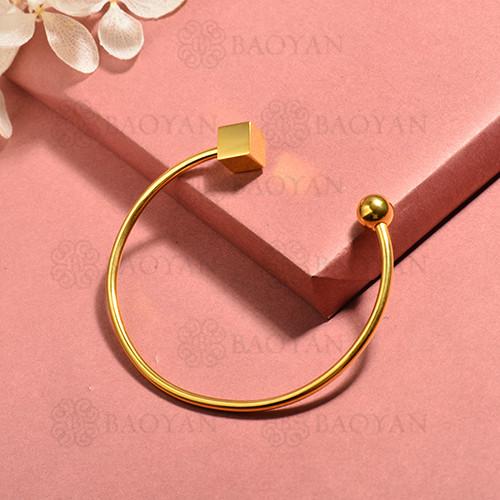 pulsera de acero inoxidable para mujer -SSBTG174-15397