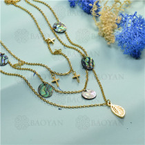 joyeria de coleccion de concha de mar -SSNEG142-15830
