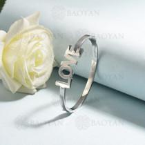pulsera de acero inoxidable para mujer -SSBTG174-15334