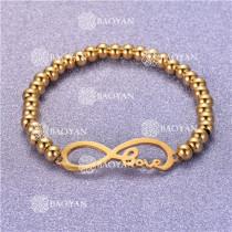 Pulsera con Bolitas Oro Dorado Para Mujer -SSBTG95-6264