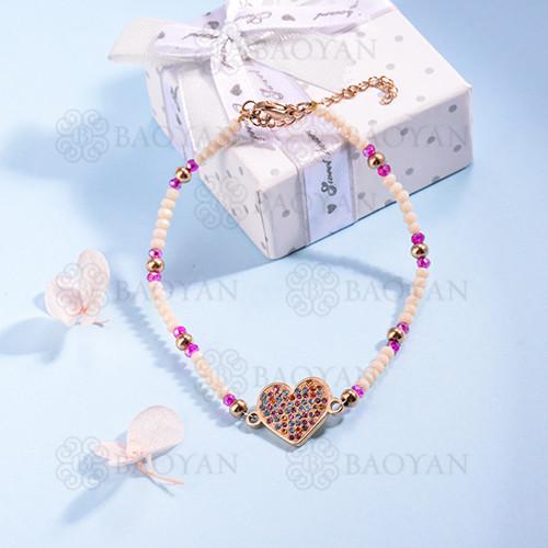 pulsera de Acero Inoxidable multicolor para Mujer -SSBTG142-14700