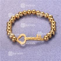 Pulsera con Bolitas Oro Dorado Para Mujer -SSBTG95-6245