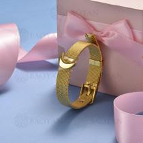 pulsera de charm en acero inoxidable para mujer -SSBTG142-16130-G