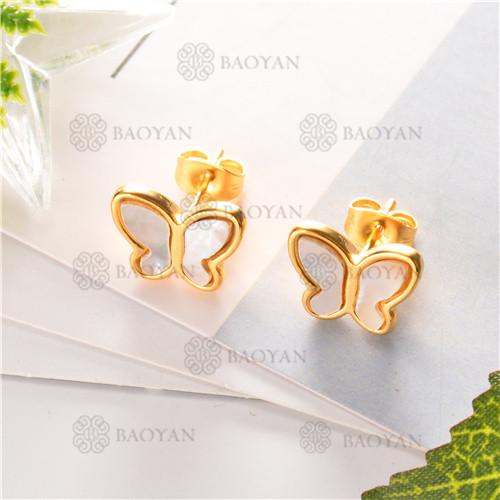 Pendientes de joyas acero inoxidable -SSEGG80-6303