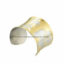 pulsera de image elefante plateado en acero dorado   inoxidable para dama -SSBTG213398