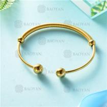 pulsera dorado en acero inixidable-SSBTG26-9131