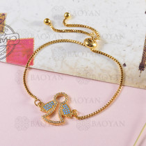 pulseras de bronce -BRBTG141-14106