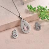 conjunto de piedra natural de acero inoxidable -SSCSG143-16074-S