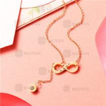 Collares de Acero Inoxidable -SSNEG129-8013
