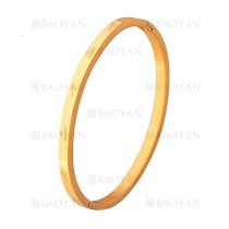 pulsera moda para amor en acero dorado inoxidable -SSBTG1225568
