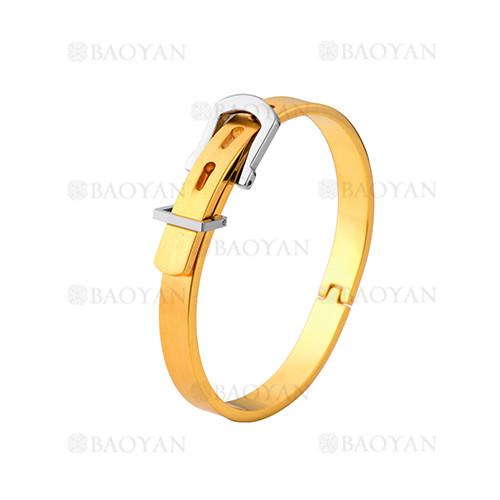 pulsera de moda de dorado en acero inoxidable-SSBTG1225016