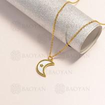 collar en oro golfi en bronce -BRNEG154-14895