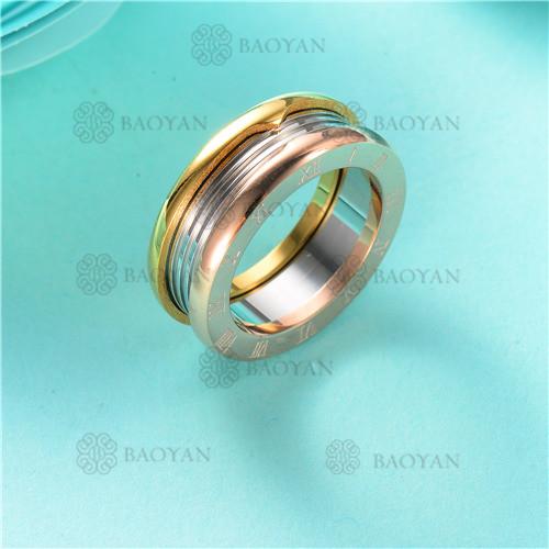 anillo  en acero inoxidable-SSRGG80-2476
